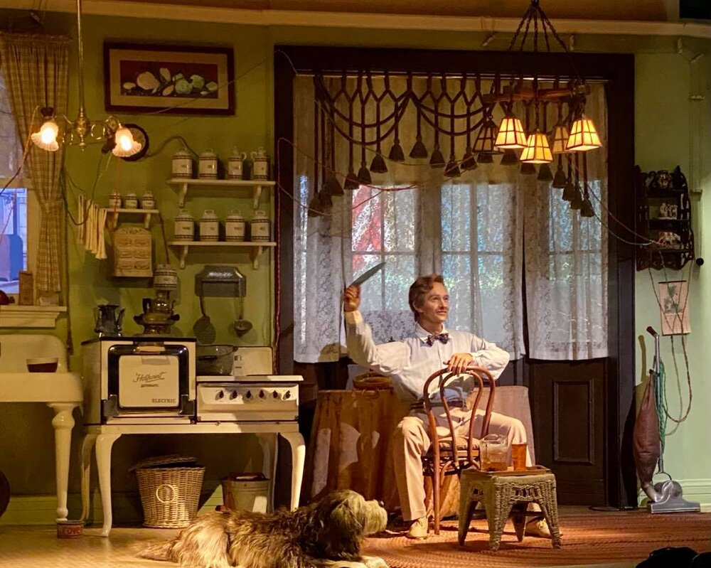 Carousel of Progress - Act 2: John discusses current life in the 1920s.