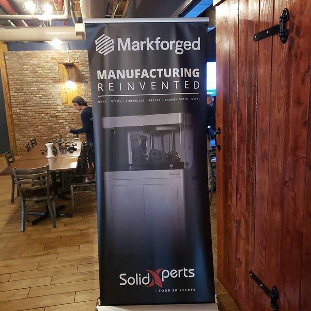 看看3D金属打印的世界@markforged @solidworks @battleroadbrewhouse # additivemanumanufacturing