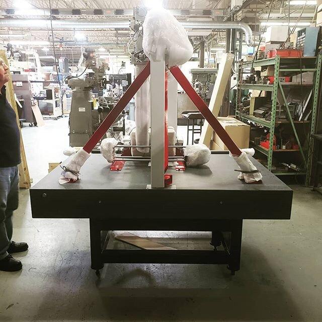 持续改进安装@lincoln_tool_machine_ #metrology #advancedmanufacturing @mitutoyoamerica @inspectarsenal