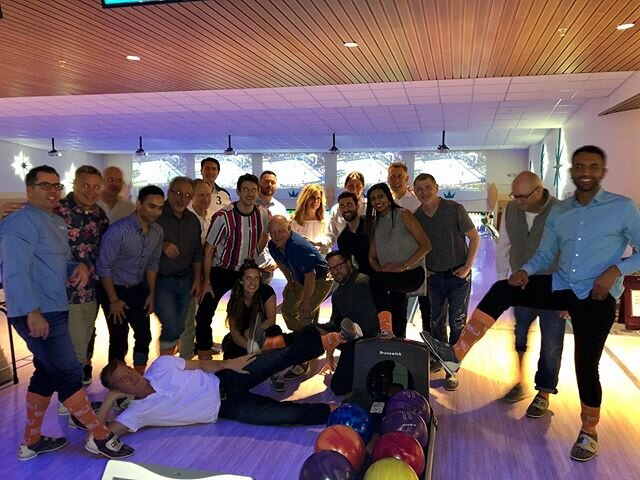 🎳 We're bowling many strikes here at ClearMetal's 2020 Sales Kickoff in Orlando! #ClearMetalSocks