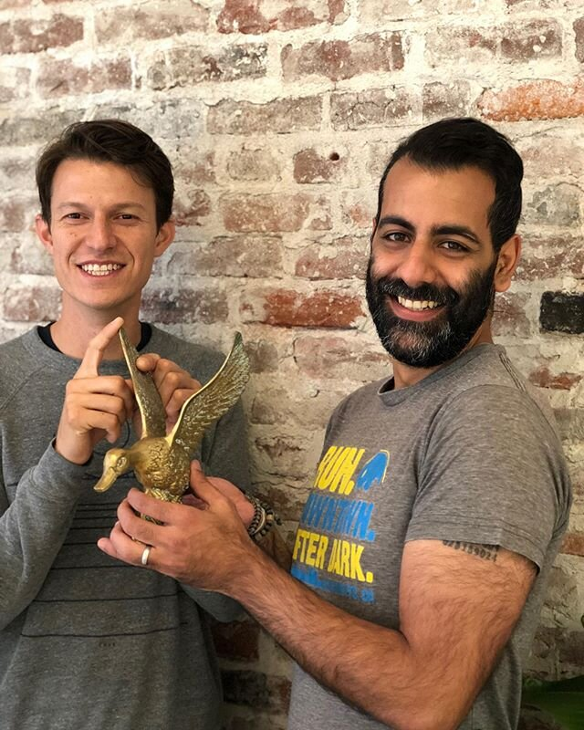 Our Data Science Team won the Golden Goose Award this week!