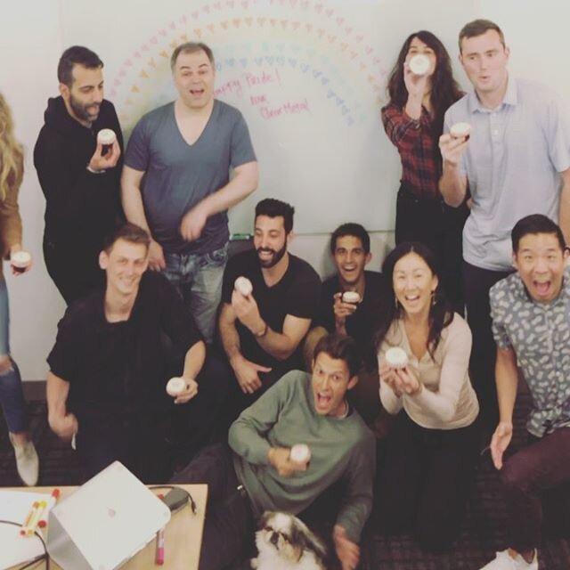 Happy Pride! ❤️🧡💛💚💙💜 Love, ClearMetal #cupcakesandvisibility