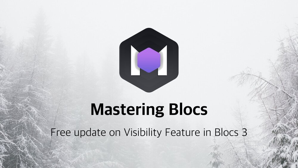 I am happy to share with you the update #14 for Mastering Blocs 3.