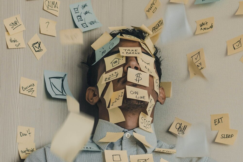 stress gerelateerde symptomen