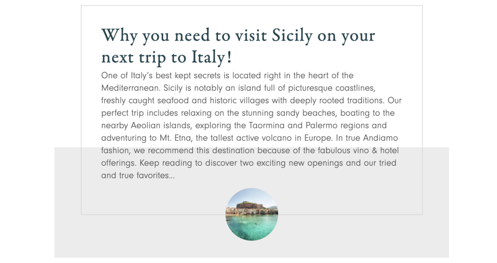 Why you need to visit Sicily on your next trip to Italy! — Andiamo Luxury Travel