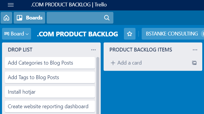 Scrum for One: Building the Product Backlog