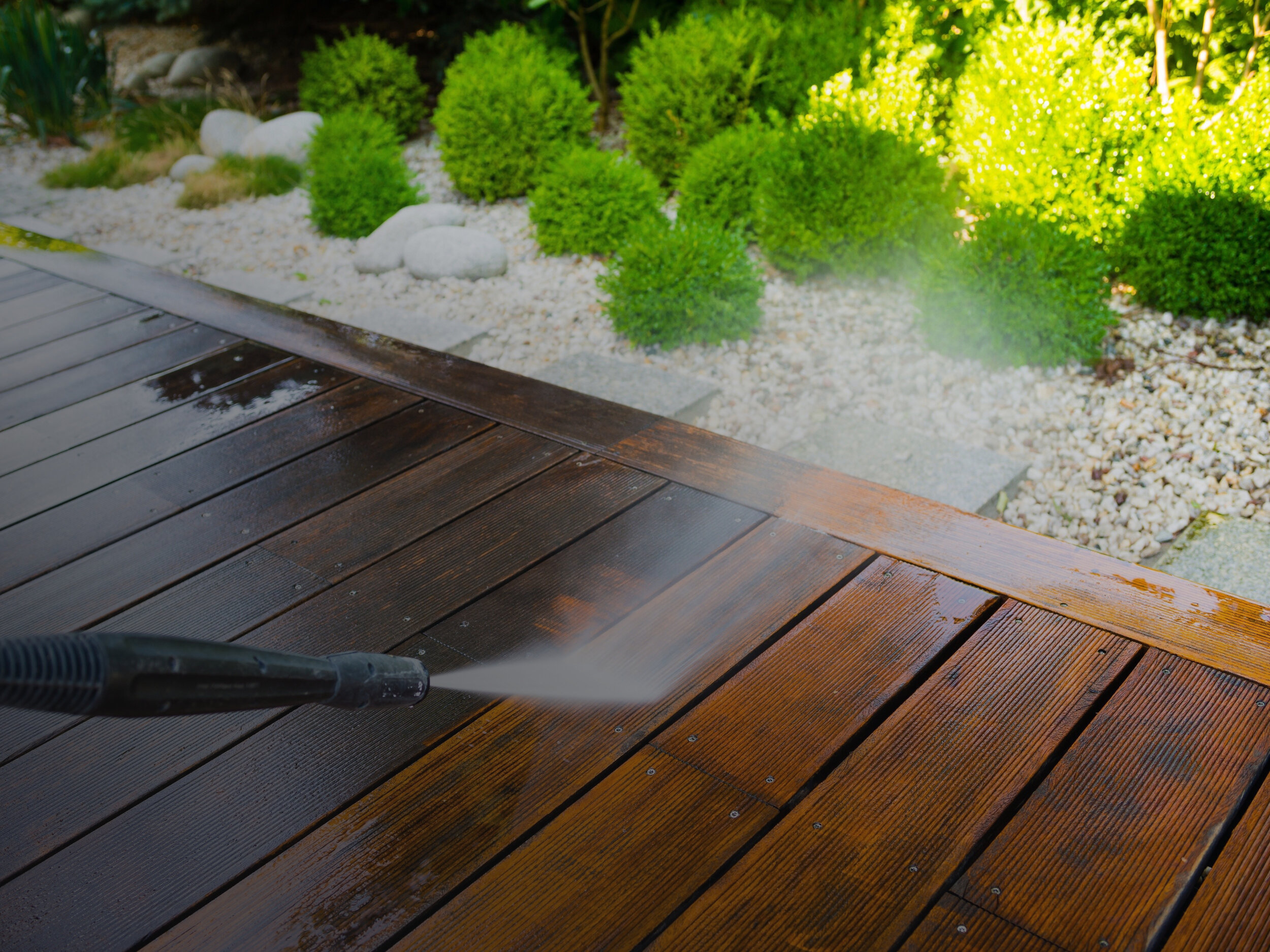 Pressure Washing Service — The Home Team - The Northwest's Premier  Residential Maintenance Company