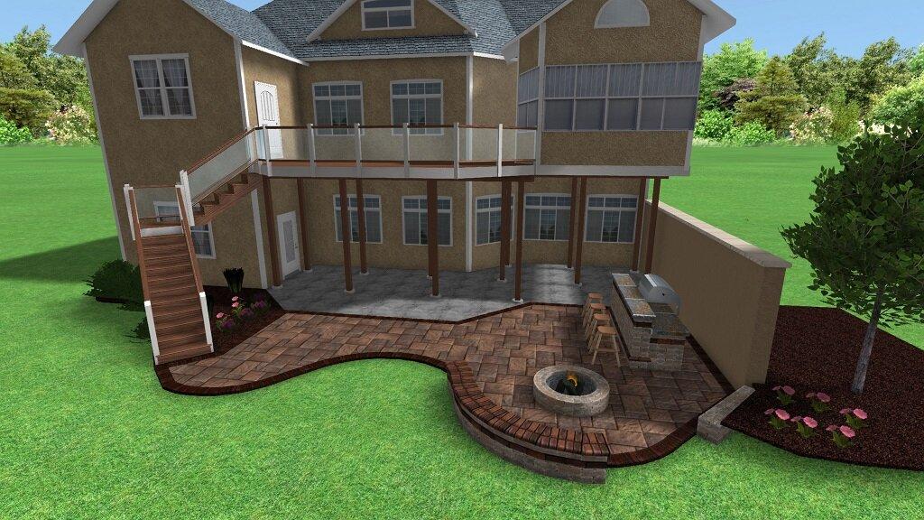 Landscape Design Ideas For Making A Powell Oh Property Appear More Spacious Arj Landscape