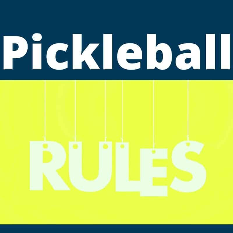 pickleball kitchen rules