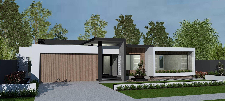 Mid Century Modern Home Design Promenade Homes