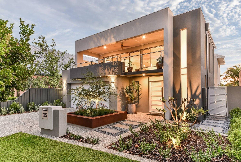 Narrow Lot Custom Built Homes Perth Promenade Homes