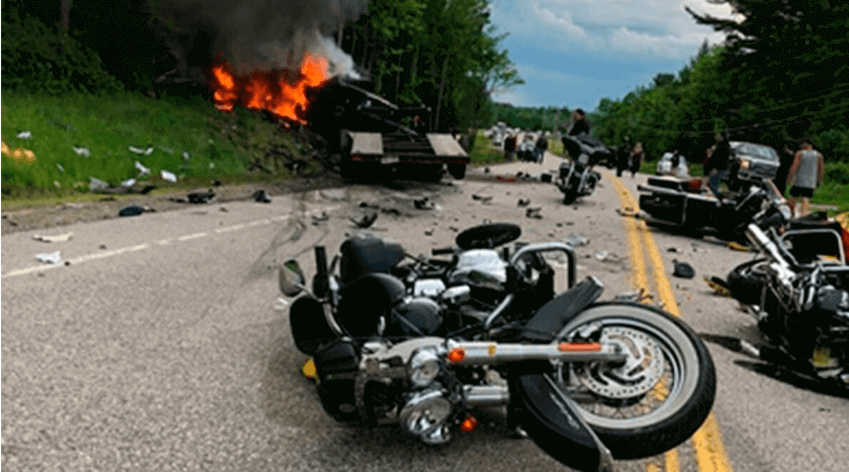 motorcycle injury claim
