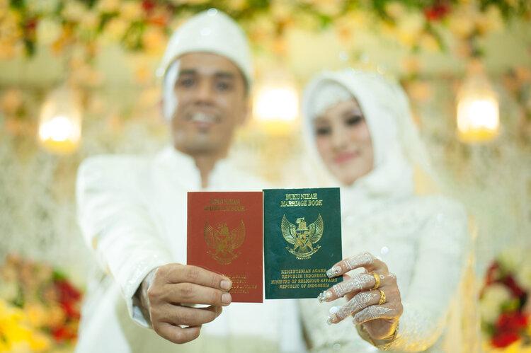 Berapa Ukuran Pas Foto Untuk Buku Nikah? — Bibit Artikel