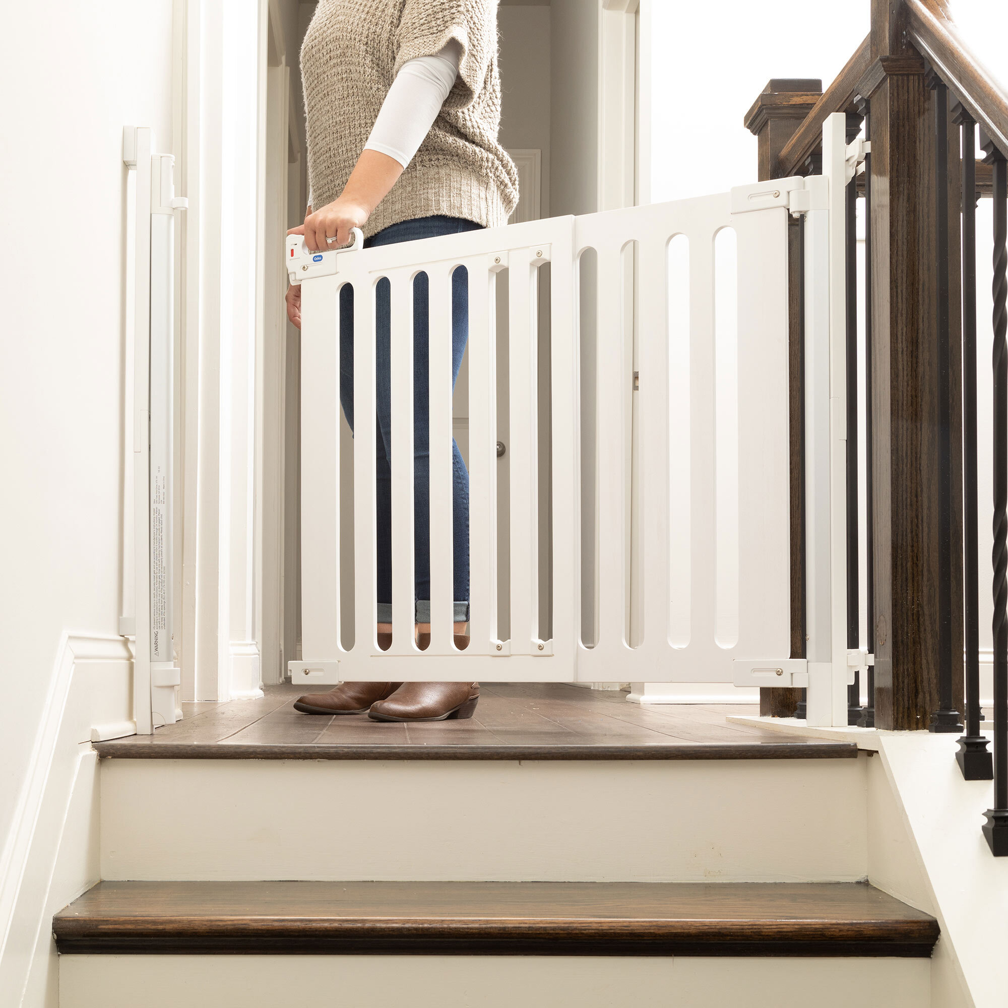 Spectrum Designer Baby Gate Hardware Mount Qdos Baby Gates Child Safety And Baby Proofing Products Qdos Safety