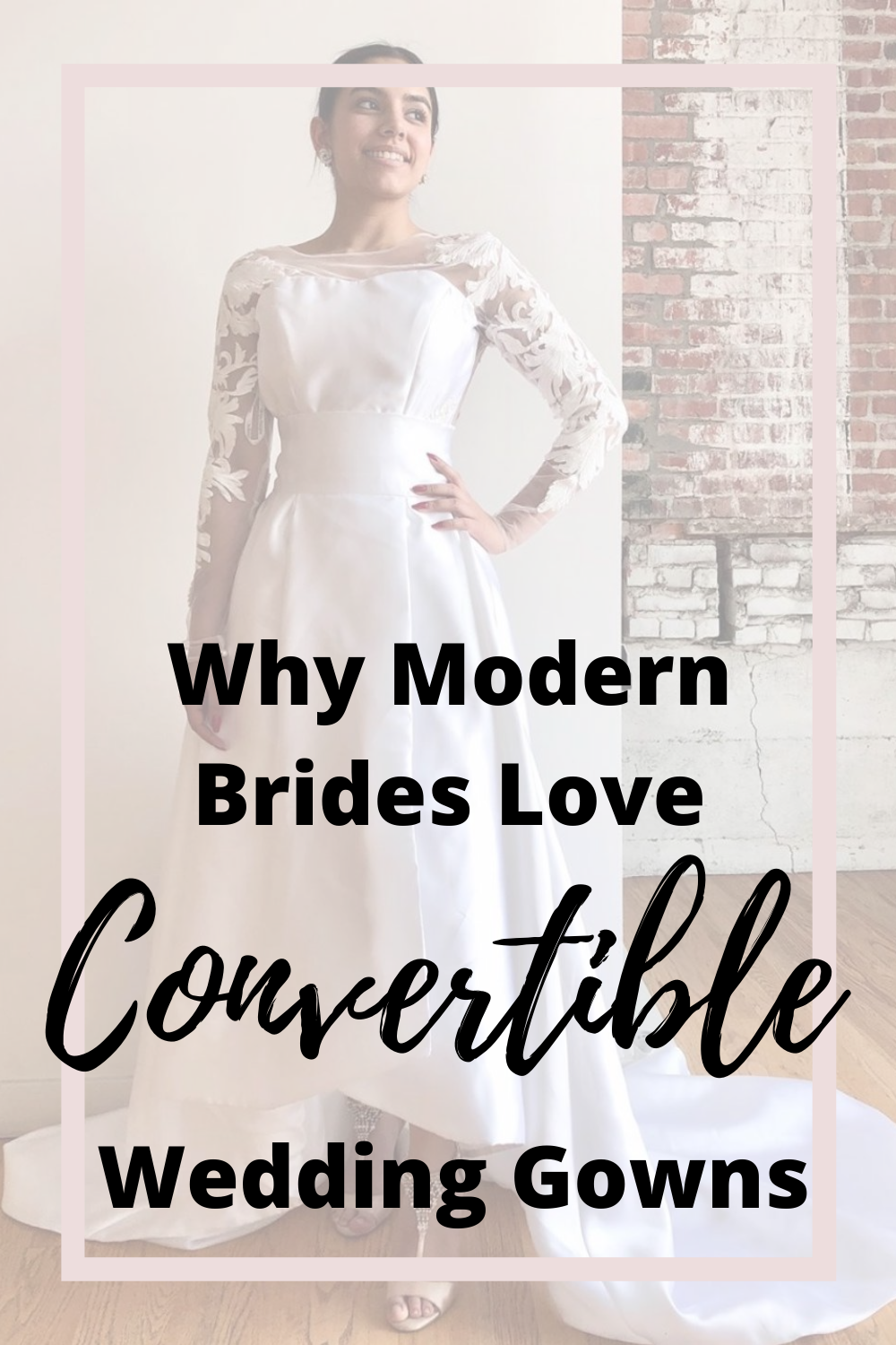 What Is A Convertible Wedding Dress Vanya Designs