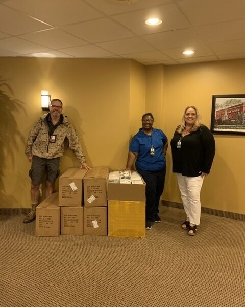 Nacogdoches Memorial Hospital  was down to less than a one week supply of Personal Protective Equipment for their hospital personnel.  Mediport USA delivered 4,000 masks.  Mediport USA is now working with the hospital to establish a continuous supply of required PPE. March 30th, 2020.
