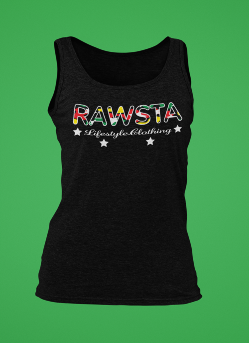 rawsta_woman_ghosted_signature_series_tank_top_green_background_rawsta_lifestyle_clothing_black.png