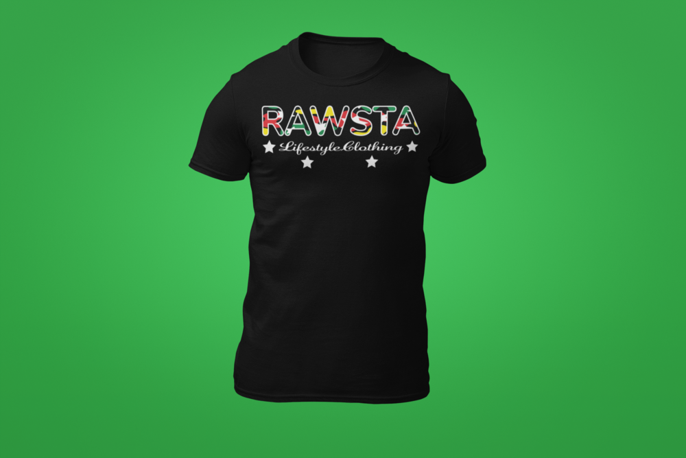 rawsta_man_ghosted_signature_series_t-shirt_rawsta_lifestyle_clothing_green_background_black.png