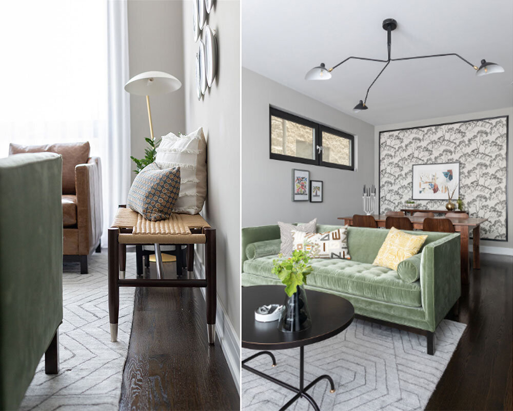 How To Choose The Right Size And Material Area Rug Sarah Montgomery Design