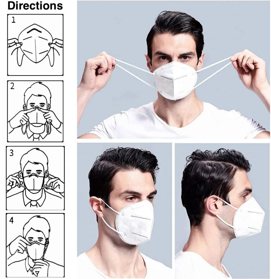 How to wear a face mask, how to wear mask to prevent coronavirus