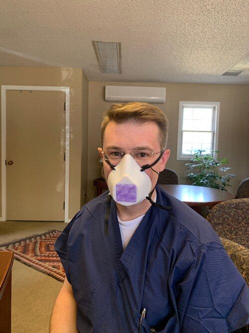 Masques respiratoires ffp 2 et 3 - Page 8 Rustyinmask