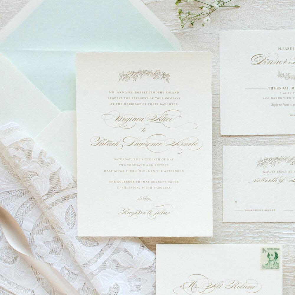 Wedding Invitations Studio R