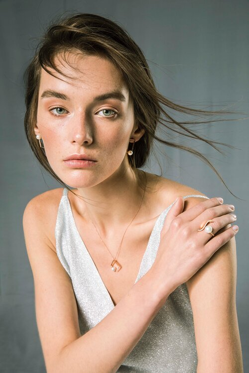 OWN Your Story 14K Rose Gold & Diamond Fluidity Pearl Ring, $1,450