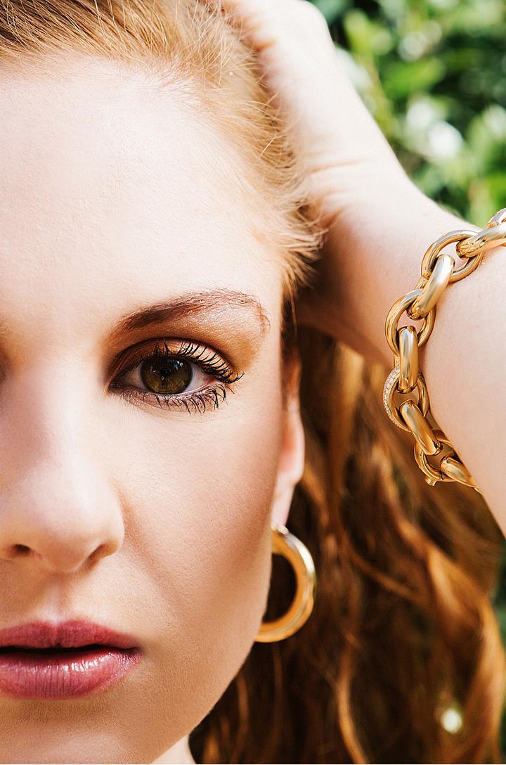 Matthia's & Claire 18K Rose Gold & Diamond Precious Links Chain Bracelet, $14,995