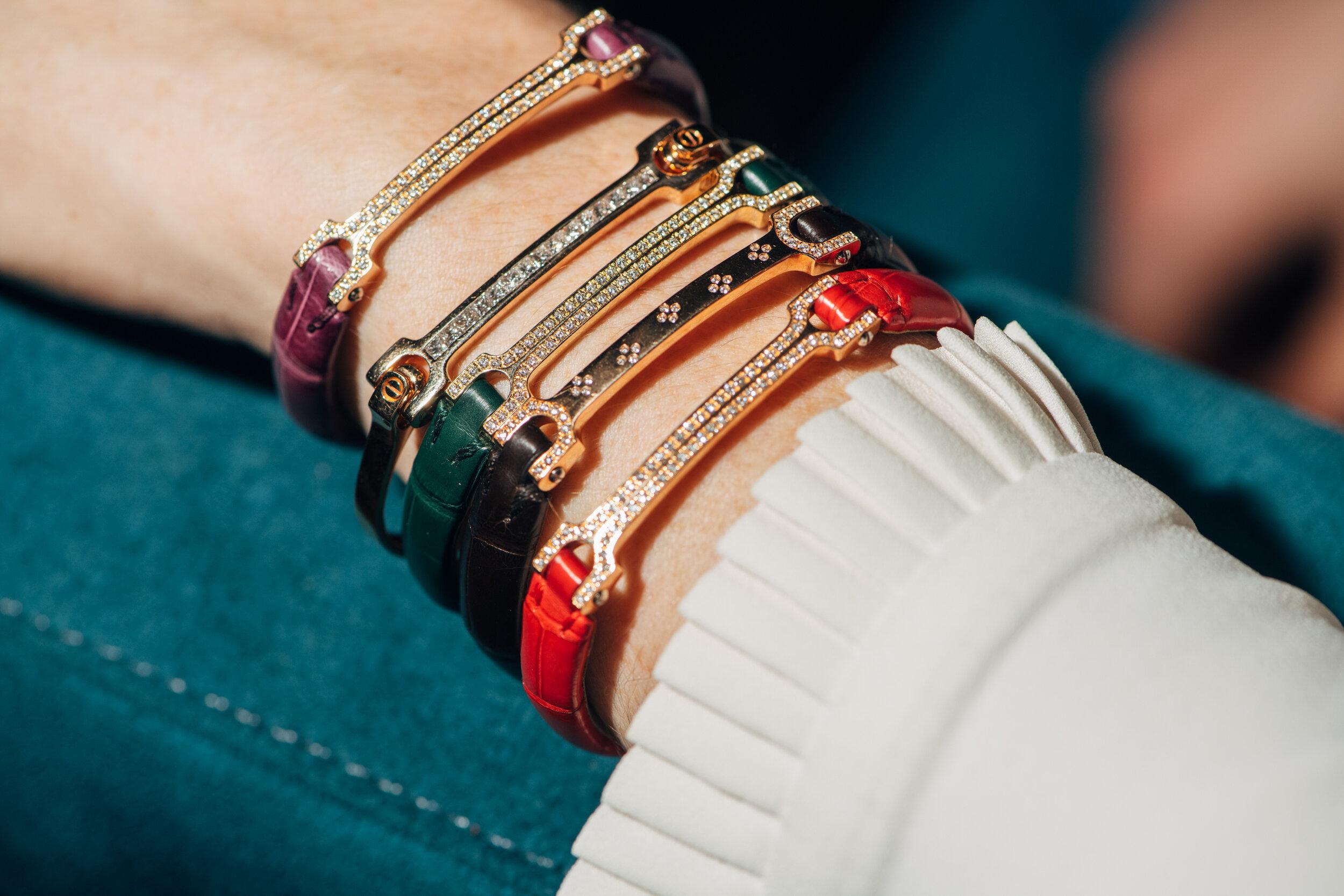 Shop all Matthia's & Claire 18K Gold & Diamond Skin Bracelets, starting at $4,200