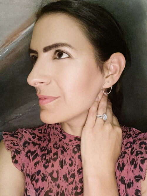 """Atelier All Day 14K Gold and Diamond """"Twist Me"""" Earrings, $995"""