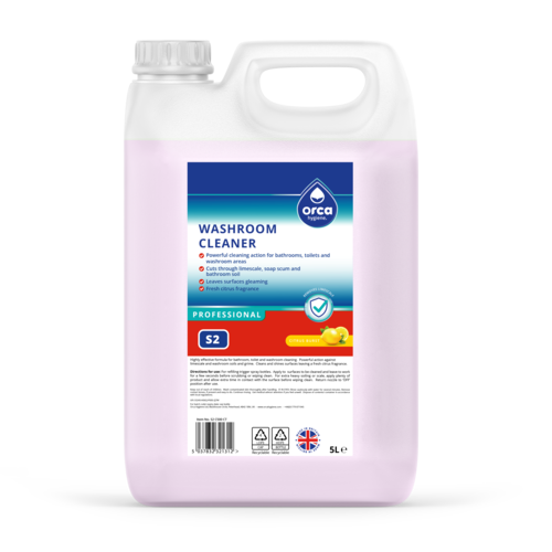 Professional Washroom Cleaner 5L Jerry Can