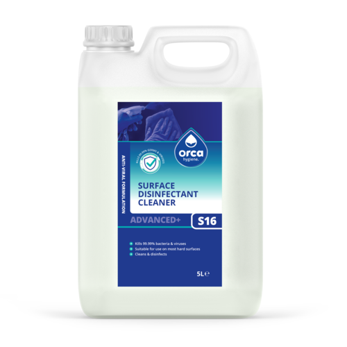 Virucidal Surface Disinfectant 5000ml Jerry Can