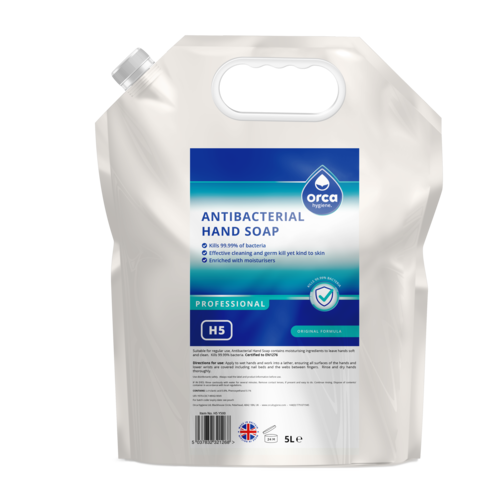 Antibacterial Hand Soap 5000ml Pouch