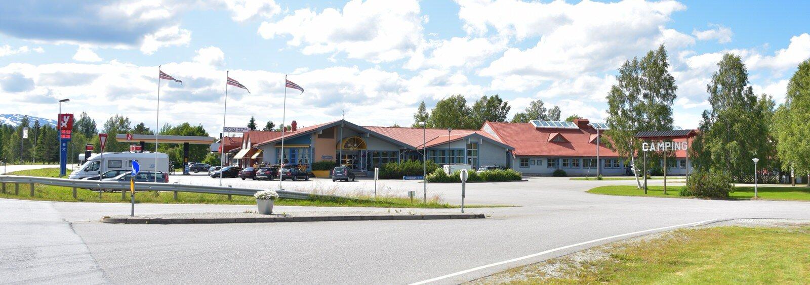 Overnatting — Namsskogan Familiepark og Hotell