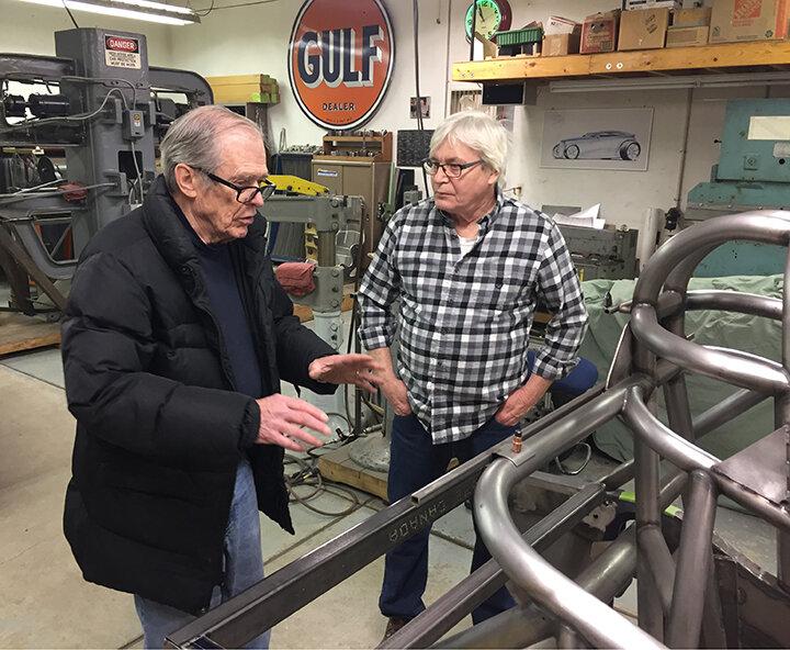 Jim Musser (left) & Ed Scutchfield