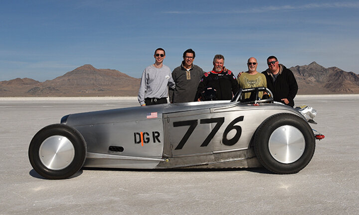 (L-R) Will Erickson, Larry, Dennis Kelso, Keith True & Kris Kelso