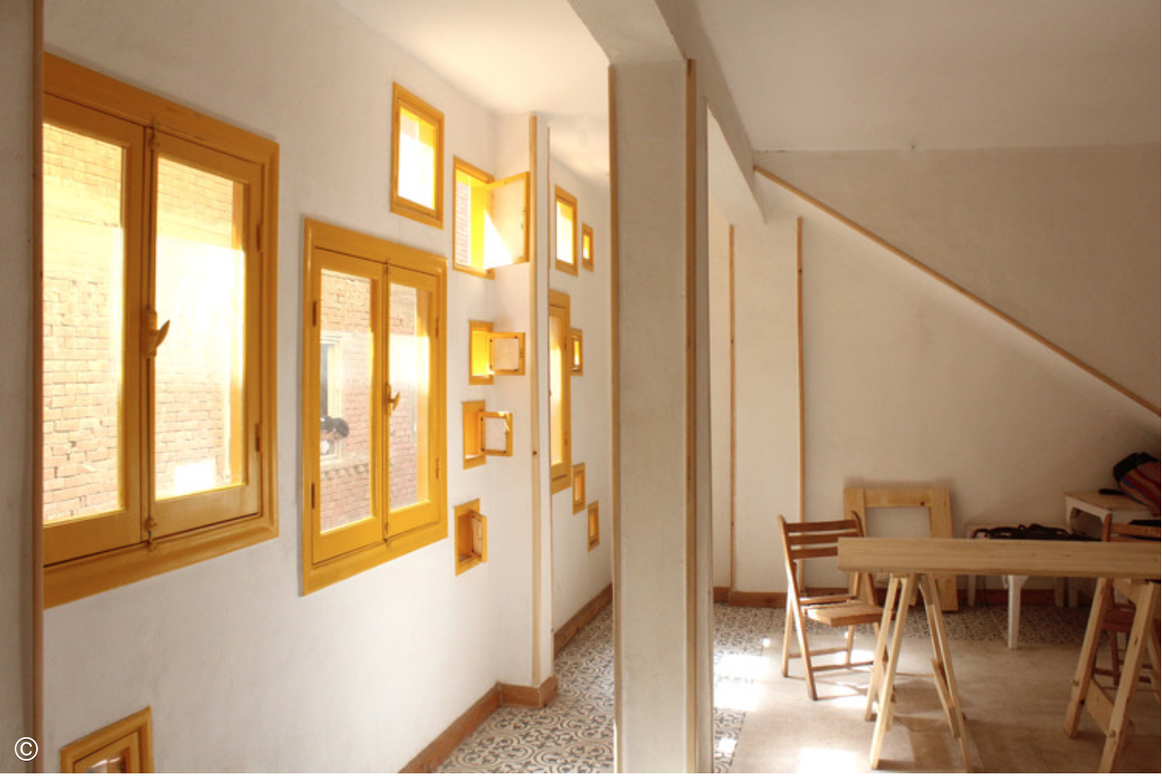 Photograph of Dawar El Ezba interior via Ahmed Hossam Saafan