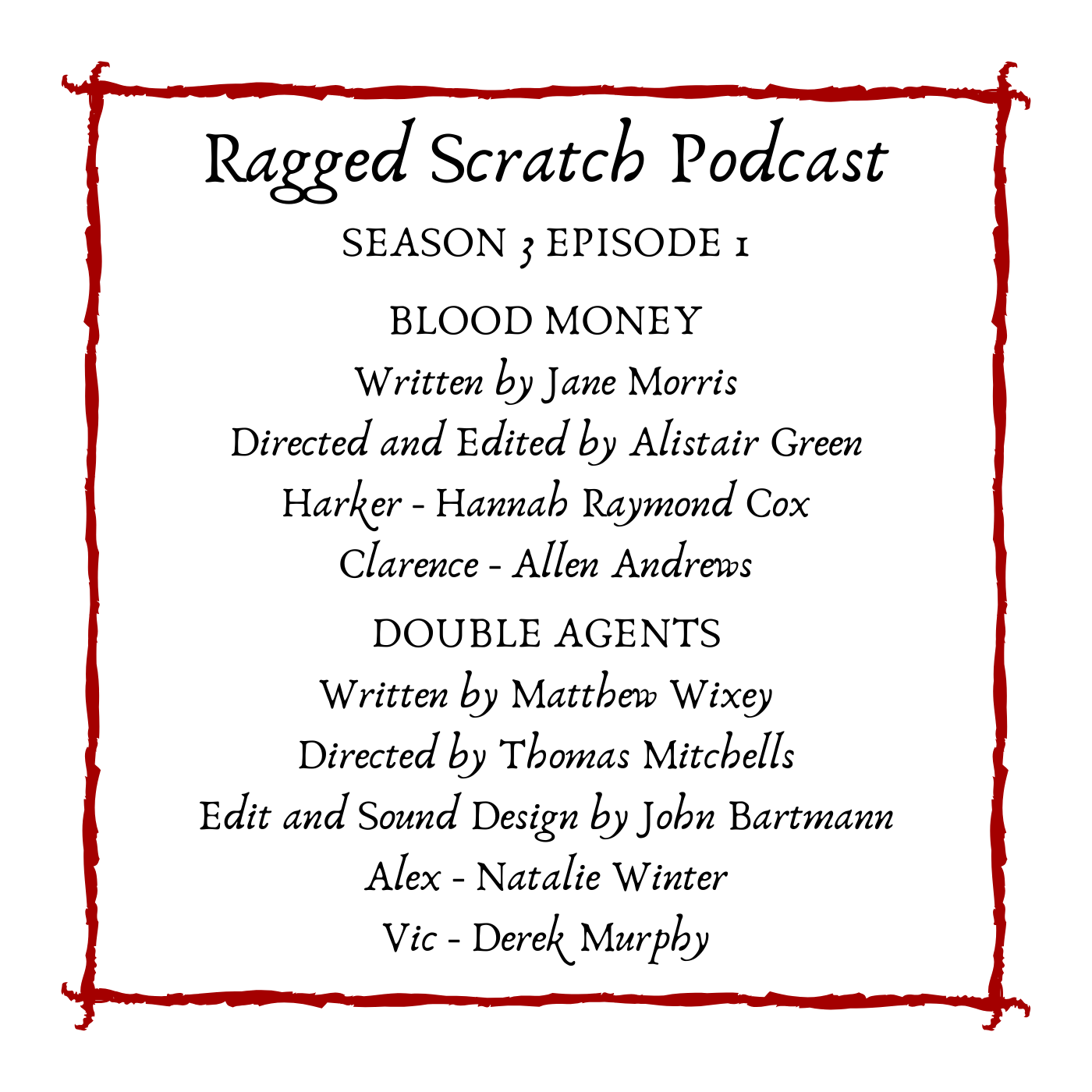"""Ragged Scratch Podcast"" Podcast"