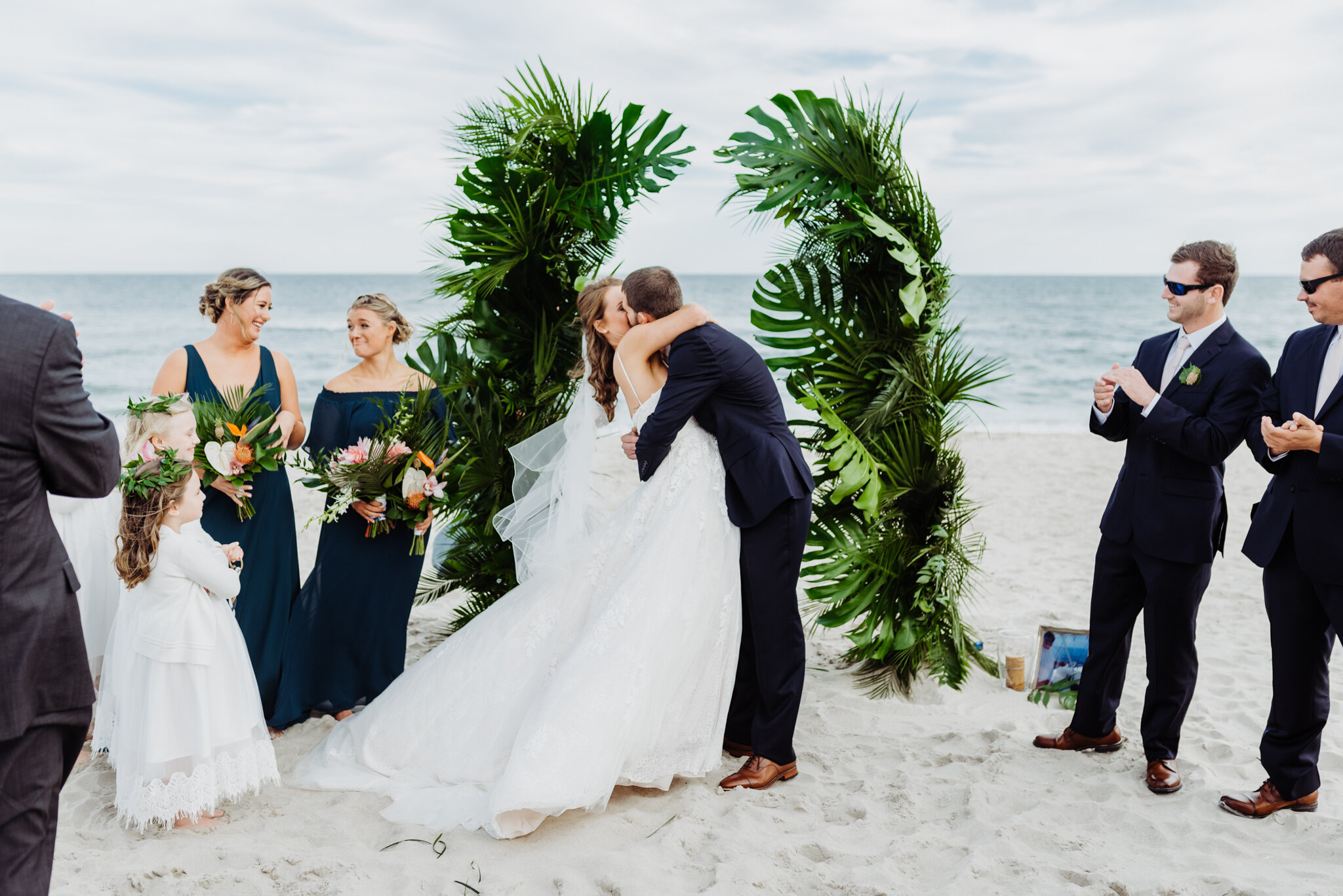 Barefoot Beach Bride -Beach Weddings- Ocean City Md