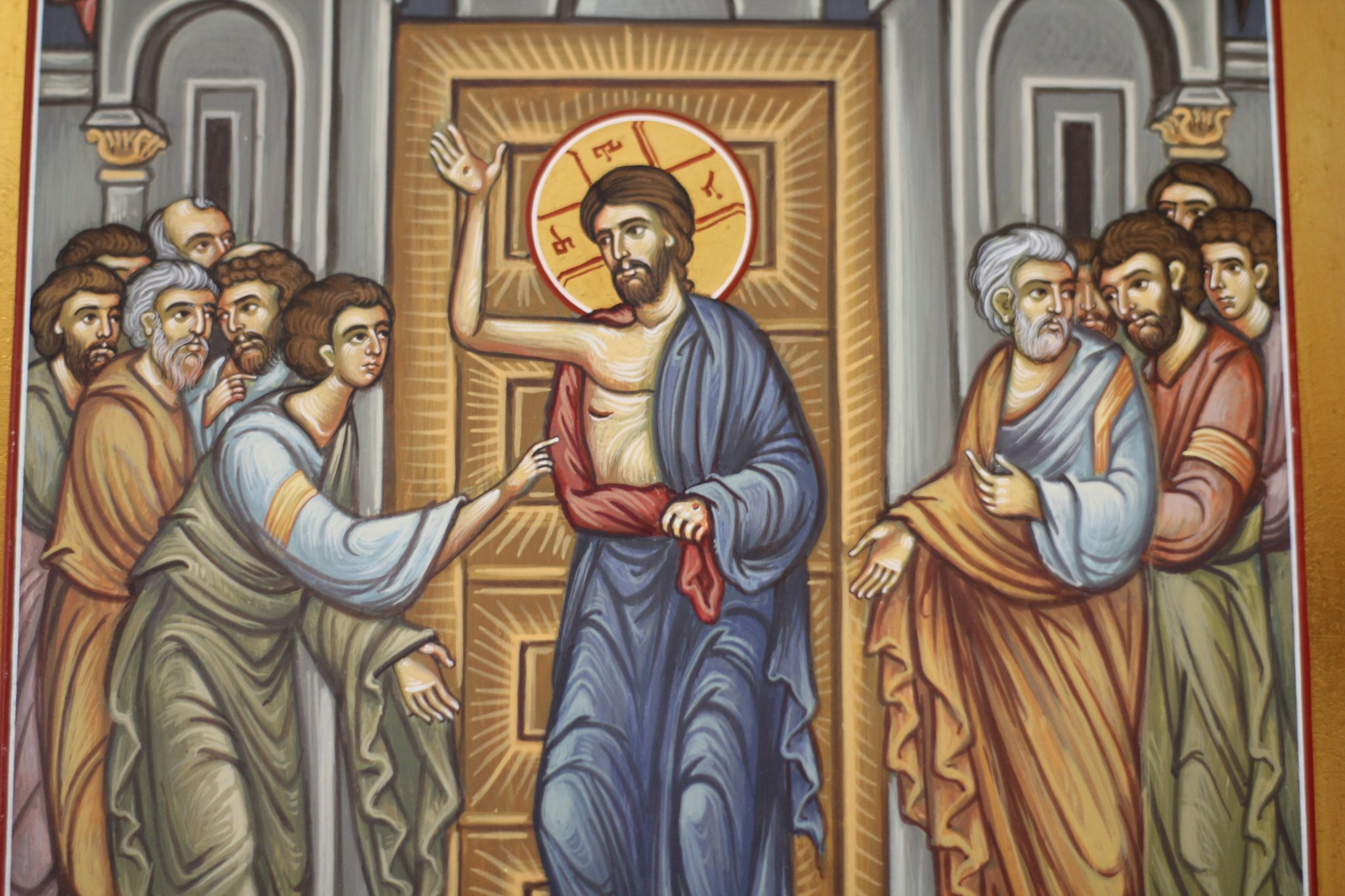 Jesus, Thomas and the other apostles
