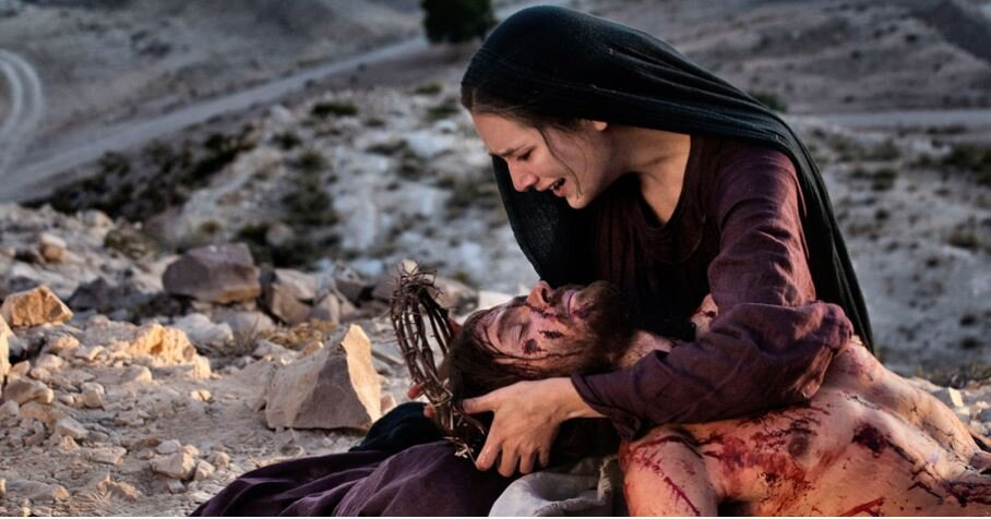 Image credit: Scene from the 2014 film 'Mary of Nazareth'.