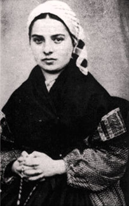 Image: Saint Bernadette of Lourdes, c. 1858