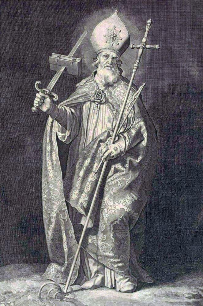 St Boniface. Image credit: Cornelis Bloemaert (1603-1684), via Wikimedia Commons
