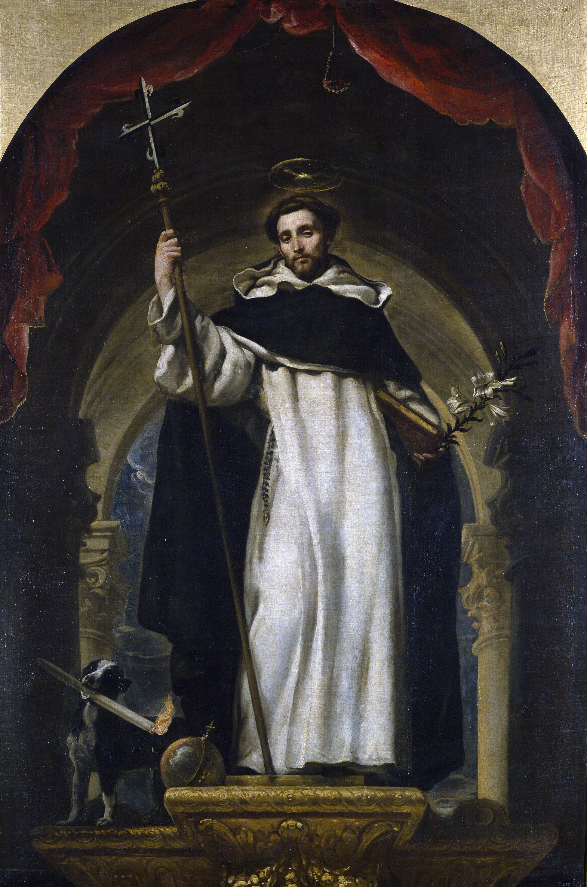 Image credit: Saint Dominic's portrait by the Spanish painter Claudio Coello in 1670 (source: Wikipedia)