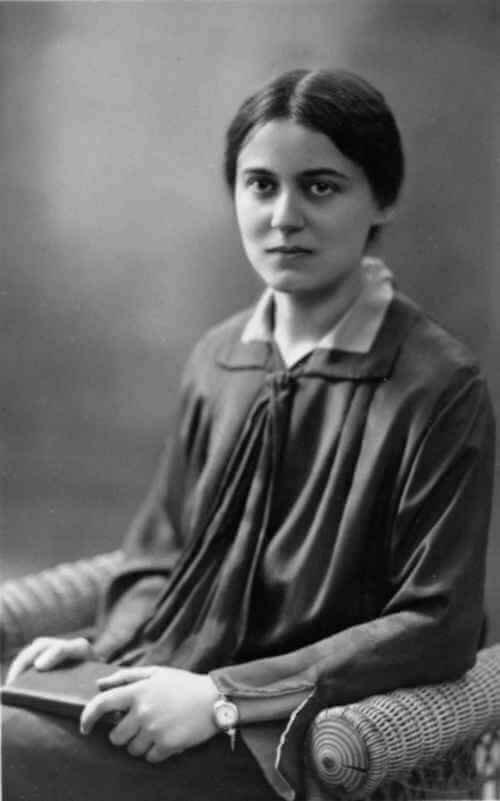 Image credit:  Saint Teresa Benedicta of the Cross (Edith Stein), Virgin and Martyr 1891 – 1942 https://mycatholic.life/saints