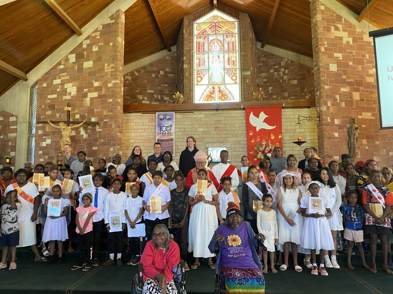 Adult Baptism & Confirmation of children in Alice Springs