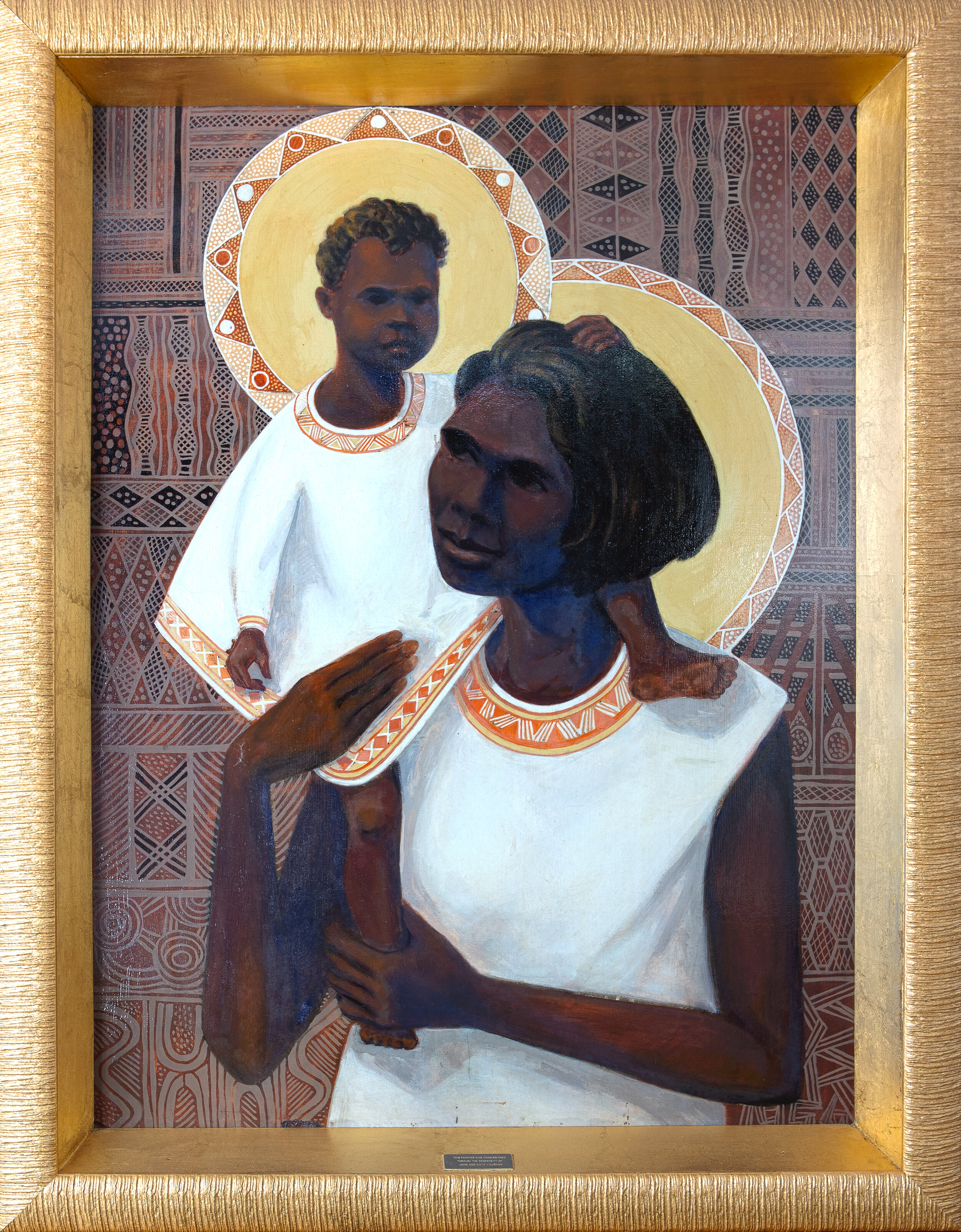Image credit:  The Madonna of the Aborigines by Karel Kupka - Diocese of Darwin
