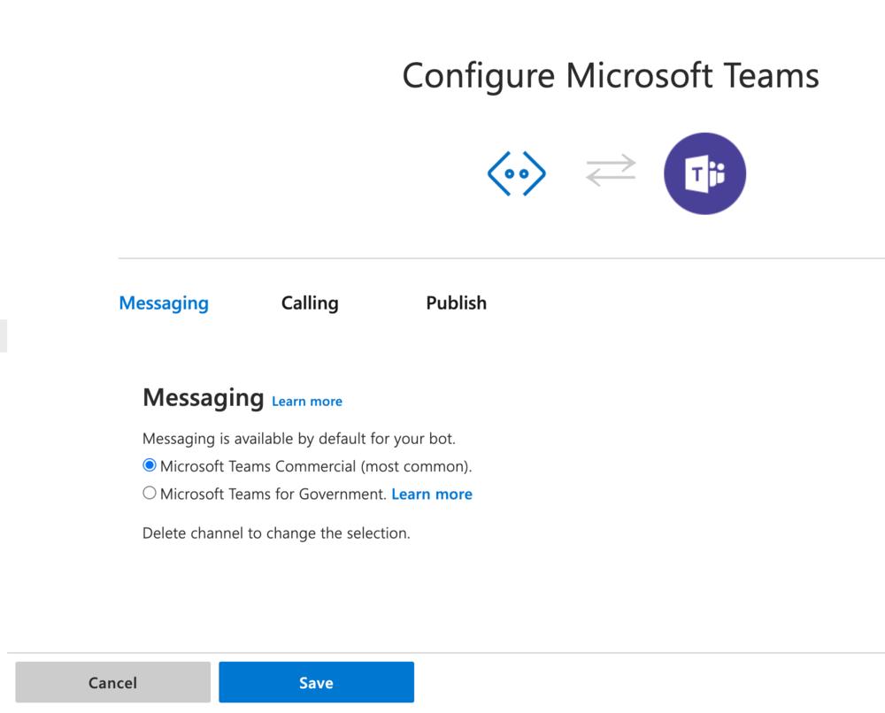 Configure Microsoft Teams