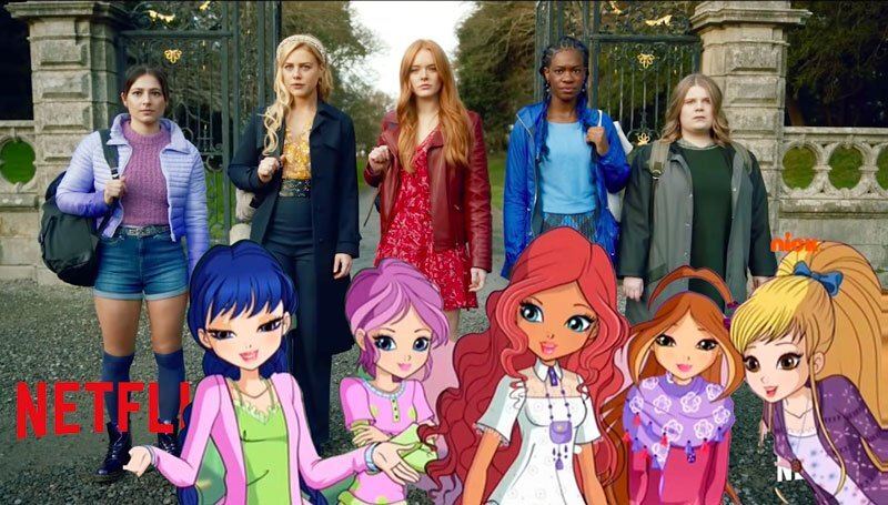 Netflix Delivers Whitewashed Winx Club Adaptation