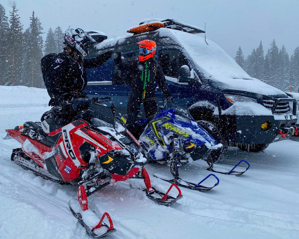 Adrenaline Vans Motorcycle Hauler Sprinter Van
